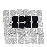 Syrtenty TENS Unit Pads 2x2 44 pcs Reusable Replacement Electrode Patches for...