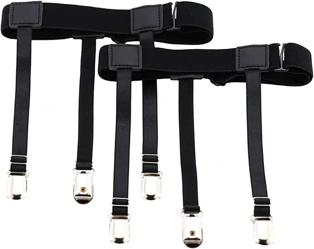 PU Leather Garter Women Men Punk Leg Harness Bondage Tight Suspender Strap Belt