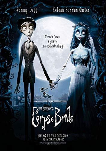 Le poster de Corpse Bride (Les Noces funèbres) pour fan de Tim Burton