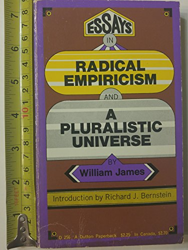 Essays in radical empiricism and A pluralistic universe
