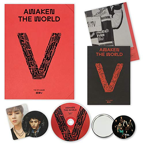 WAYV 1st Album - Awaken The World [ AWAKEN ver. ] CD + Photobook + Folding Poster(On Pack) + Photocard + Circle Card + FREE GIFT / K-pop Sealed