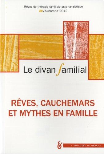 Le divan familial, N° 29, Automne 2012
