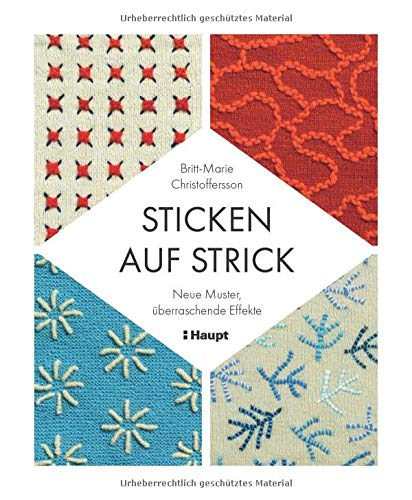 Sticken auf Strick: Neue Muster, überraschende Effekte