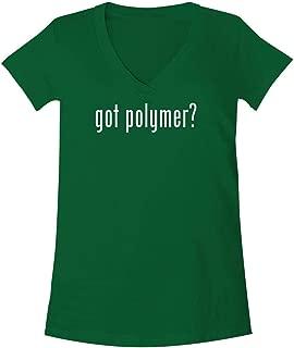 The Town Butler got Polymer? - A Soft & Comfortable Women's V-Neck T-Shirt