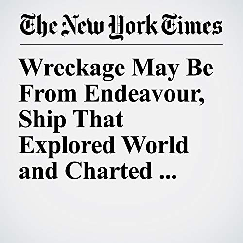 Wreckage May Be From Endeavour, Ship That Explored World and Charted Australia copertina