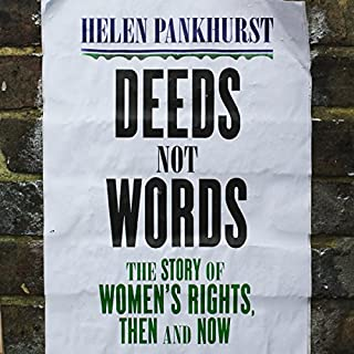 Deeds Not Words cover art