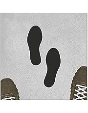 Pegatinas autoadhesivas para marcar el suelo de los pies y los pies