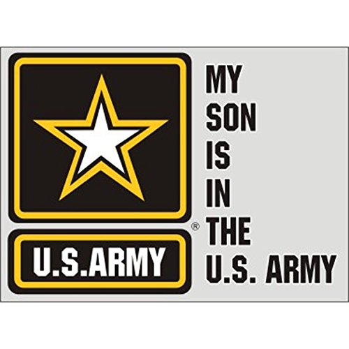 My Son is in the Army Star Decal Sticker