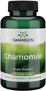 Swanson Chamomile 350 Milligrams 120 Capsules