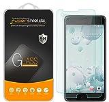 (2 Pack) Supershieldz Designed for HTC U Ultra Tempered Glass Screen Protector, Anti Scratch, Bubble Free