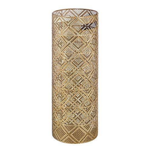 Paragüero Dorado de Metal de diseño de 53x20x20 cm - LOLAhome