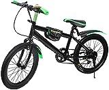 Vélo de ville pour enfant - 20 pouces - Frein à disque - Pour sports de plein air - Vert