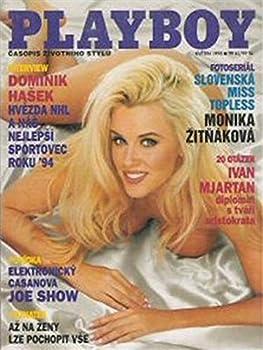 Playboy Adult Magazine Czech Republic Czech Edition May 1995 Jenny McCarthy Pamela Stein