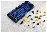 メカニカルキーボード用キーキャッププラー メカニカルゲームキーボードのためのMX Openerキーキャップのための108ピースのキーキャップMidnight Blue Keycap PBTキーキャップ