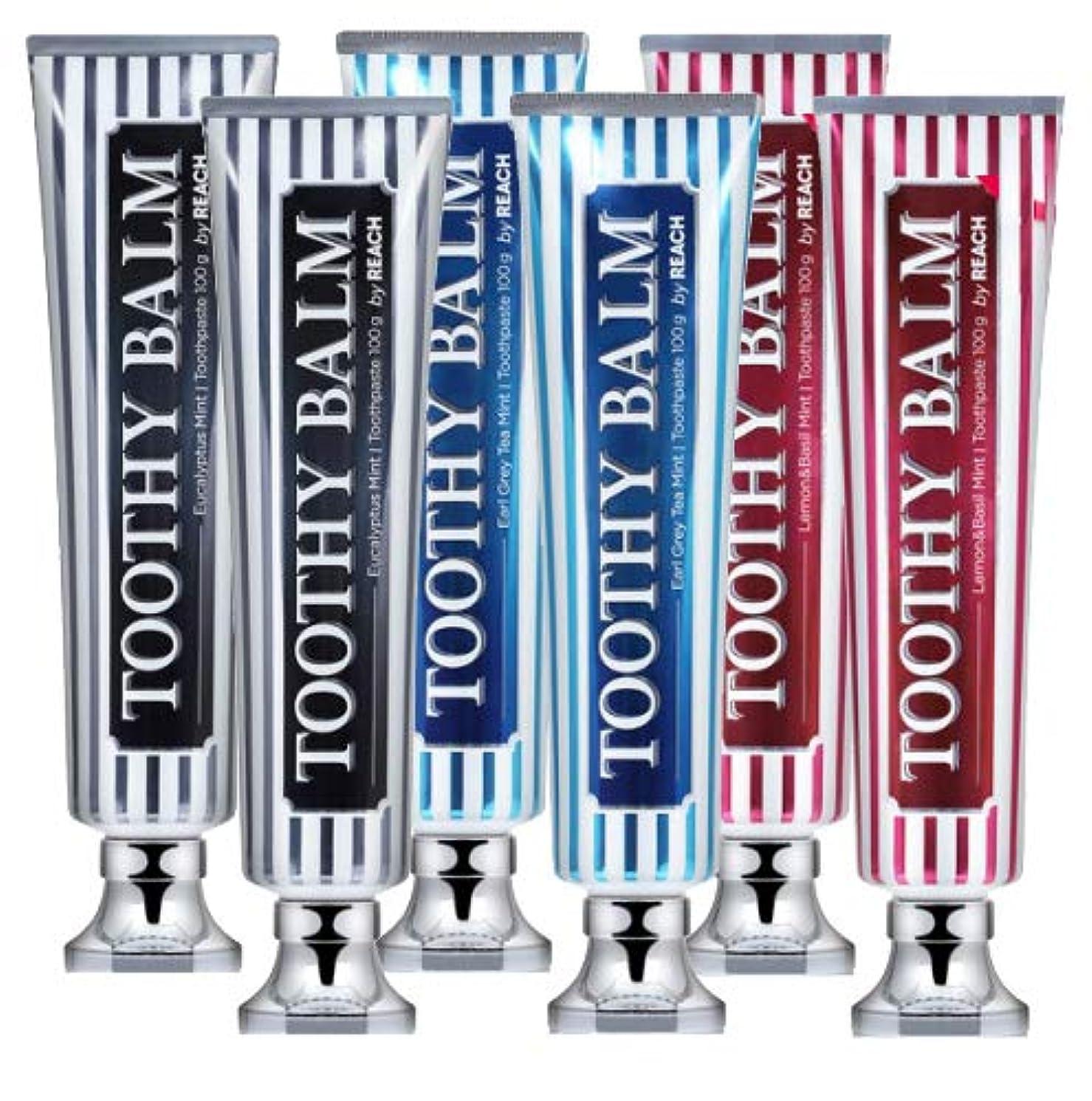 噴出する枯渇関係[LG HnB] Rich Tosea Balm Premium Toothpaste/リッチツシ夜プレミアム歯磨き粉 100gx6個(海外直送品)