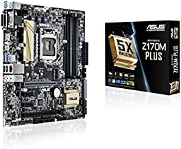 ASUS Z170M-PLUS Micro ATX DDR4 Motherboards