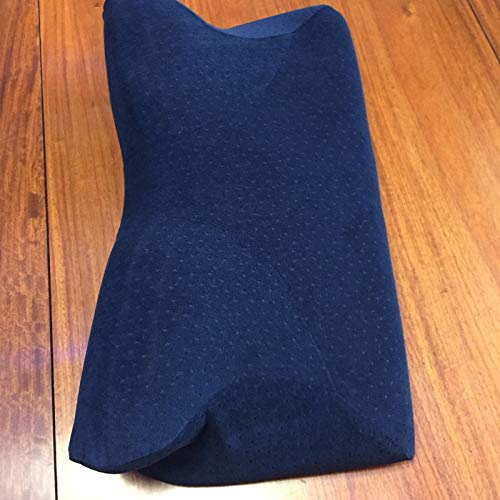 yywl Almohada ortopédica de látex, 61 x 33 cm, magnética, con rebote lento, almohada de espuma viscoelástica