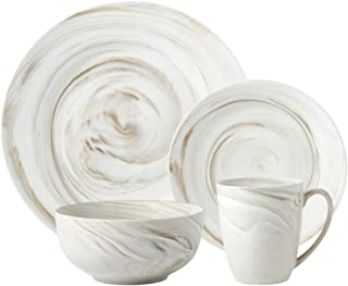 marble look dinnerware