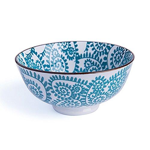 Excelsa Oriental–Cuenco de Porcelana, Porcelana, Rami BLU, 12 cm