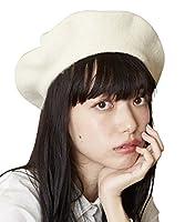 (アンリラクシング) Unrelaxing ベレー帽子 UR-437W FREE オフホワイト UR-437W_WH03F001