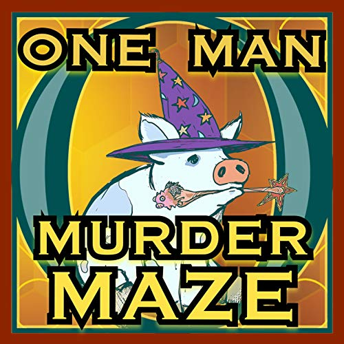 One Man Murder Maze  By  cover art