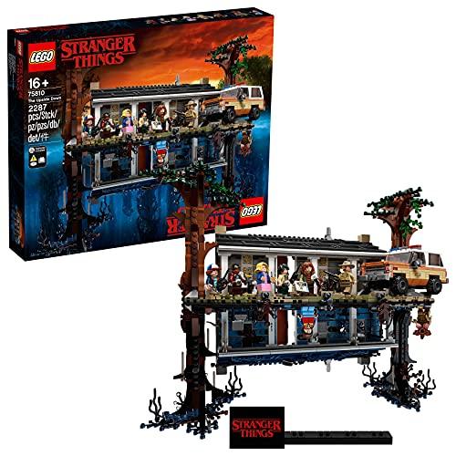 LEGO Stranger Things - Mundo del revés, Set de construcción de la casa de...