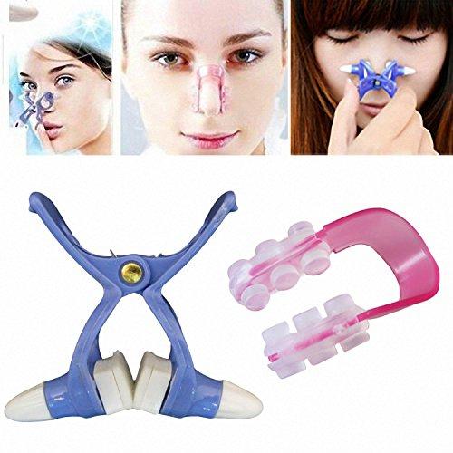Caliente vender nariz Up shaping Shaper levantamiento + puente enderezar belleza Clip Color al azar