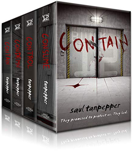 BUNKER 12 Omnibus: Contain, Condemn, Control, and Consume: The Thrilling Post-Apocalyptic Survival Series (English Edition)