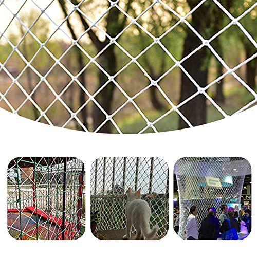 GZHENH Red De Cuerda Red De Seguridad De Trampolín Red De Fútbol Cerca De Jardín Fácil De Instalar Malla Tejida A Mano, Personalizable (Color : Beige-6mm, Size : 3x3m)