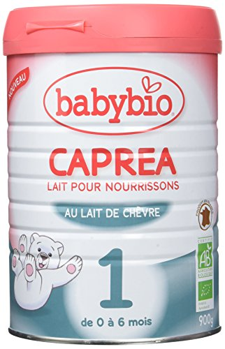 Babybio Lait Bio pour Nourrissons Caprea 1 au Lait de Chèvre 900 g