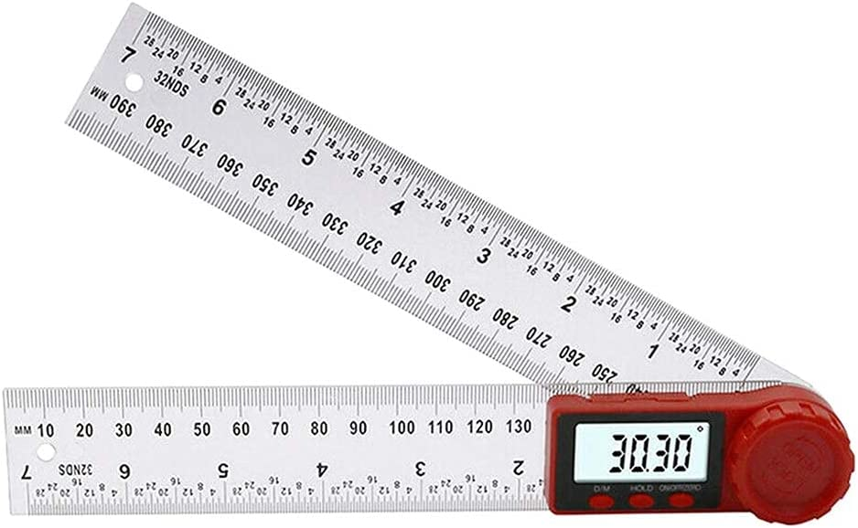 TXXM 0-200 300mm Digital New sales Angle Gauge Free Shipping New wi Ruler 360°