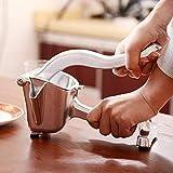 Exprimidor de limón manual manual de la prensa de cítricos exprimidor de limón exprimidor de fruta orae extractor de jugo resistente para la barra de cocina pequeña con soporte