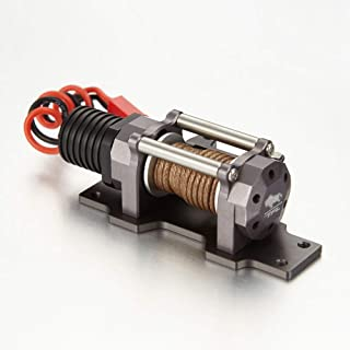 RC Scale 1/10 Electric Winch Alumiunm Alloy for RC Rock Crawler C1616-03