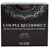 Couple Reconnect - by USA Psychologist - 155 Thought Provoking Conversation Starters and Activities - Rekindle Spark and Romance - Game for Mature Couples