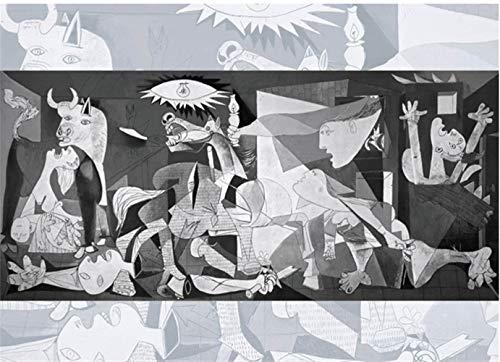 LOIHG Adultos Niños Puzzle DIY 1000 Piezas De La Colección del Museo Famoso Cuadro Rompecabezas For El Arte De La Familia Pintura Juguetes, Regalos Creativos Decoración (Color : Guernica)