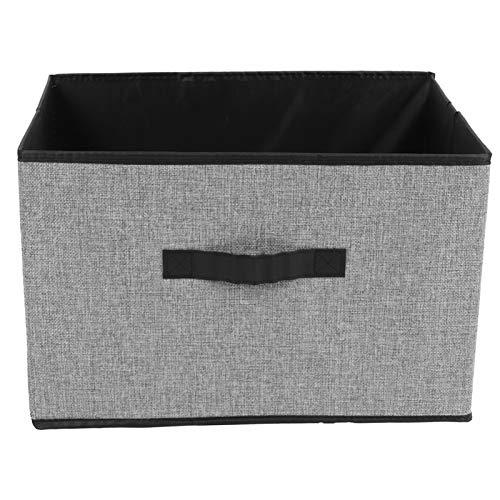 BOLORAMO Organizador De Almacenamiento, Caja De Almacenamiento Plegable Caja De Almacenamiento Práctica para Libros De Tienda/Juguetes/Toallas/Ropa