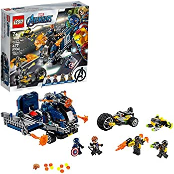 477-Pieces LEGO Marvel Avengers Truck Take-Down Cool Minifigures