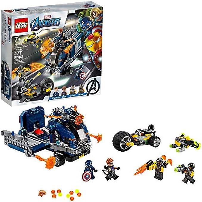 LEGO הנוקמים Truck Take-Down 76143 (new 2020)