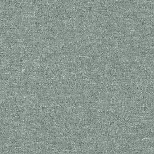 rasch Tapete 449846 aus der Kollektion Florentine II – Einfarbige Vliestapete in Graublau – 10,05m x 53cm (L x B)