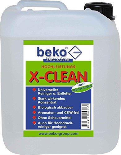 BEKO 29925000 TecLine X-Clean - Detergente concentrato, tanica da 5 l