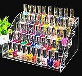 ForeWan Soporte para exhibición de aceite, expositor de esmalte de uñas, soporte para pintalabios...