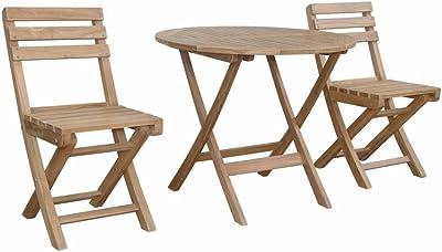 Amazon.com: Crestlive Products - Juego de sillón y mesa de ...
