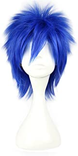 Cosnew Halloween Anime Party Blue Short Jellal Wig Cosplay