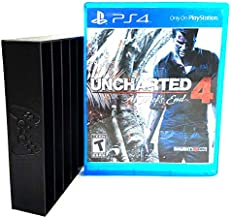 Collector Craft, Black, PS4 Compatible Game Organizer, PS4 Game Tray, Holds 10 Playstation 4 Games, Clutter Reducing, Vide...