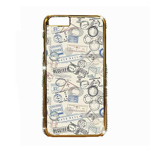 Printing Stamp 2 Well Rigid Plastic Phone Shells Compatible with Apple iPhone 6 4.7 For Boy Choose Design 126-4