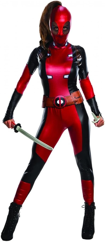 Horror-negozio Costume da donna Deadpool S