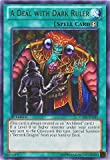 YU-GI-OH! - A Deal with Dark Ruler (LCJW-EN241) - Legendary Collection 4: Joey's World - 1st Edition - Rare