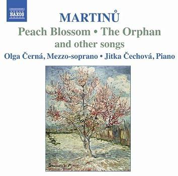 MARTINU: Songs for mezzo-soprano and piano