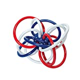 Manhattan Toy Red, White, and Blue Winkel Rattle and Teether Baby Toy