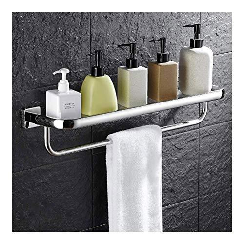 ZWJ planken helder glas plank gehard glas handdoekhouder ophangsysteem Cosmetic Racks muur bevestigde badkameraccessoires 01-26